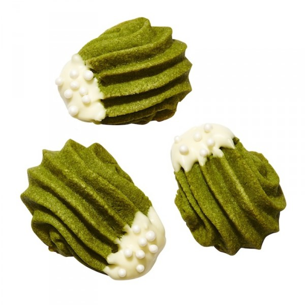 green tea cookies matcha butter cookies holiday dessert recipes