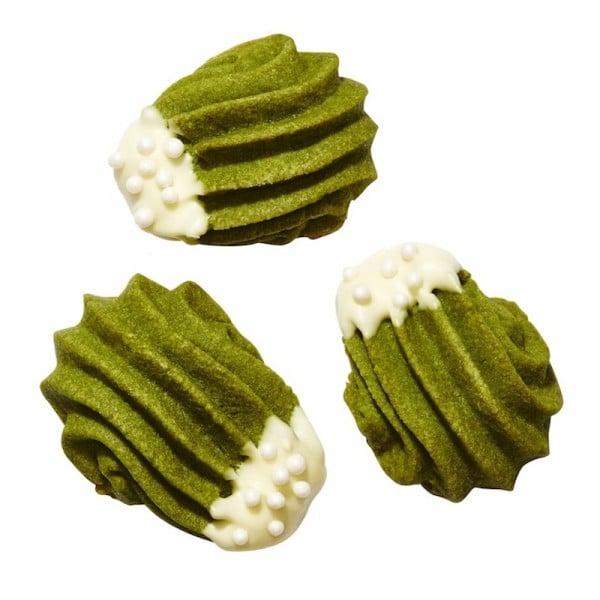 green tea cookies matcha butter cookies holiday dessert recipes