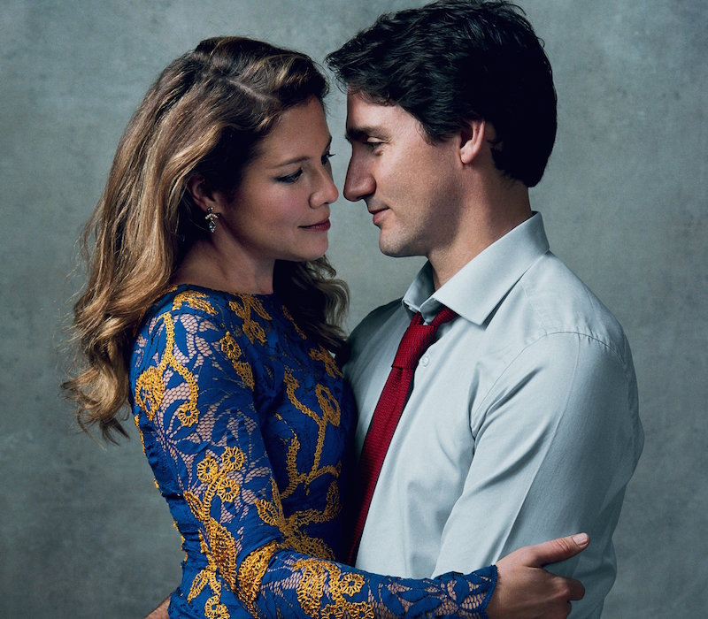 Justin Trudeau Prime Minister Of Canada Poses For A: What Justin And Sophie Trudeau Learned In Couples Therapy