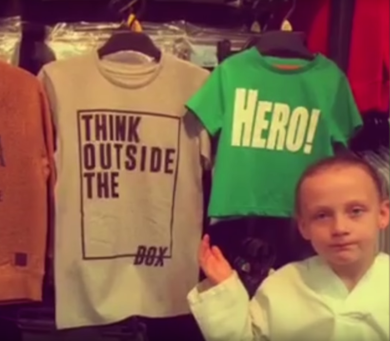 The Top 10 Viral Moments Of 2016: Incredible Girl Shows Why Sexist Kids Clothing Is The