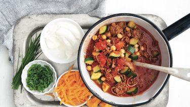 Chili Recipes: Big-Batch Moroccan chili