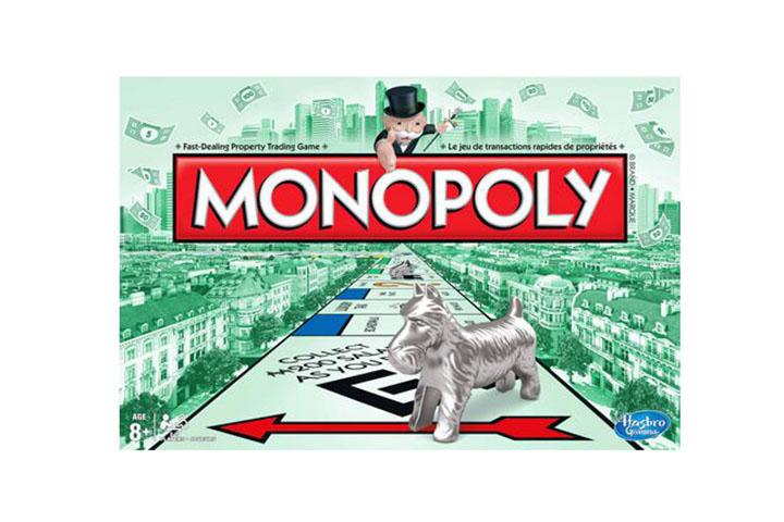 monopoly canada board games