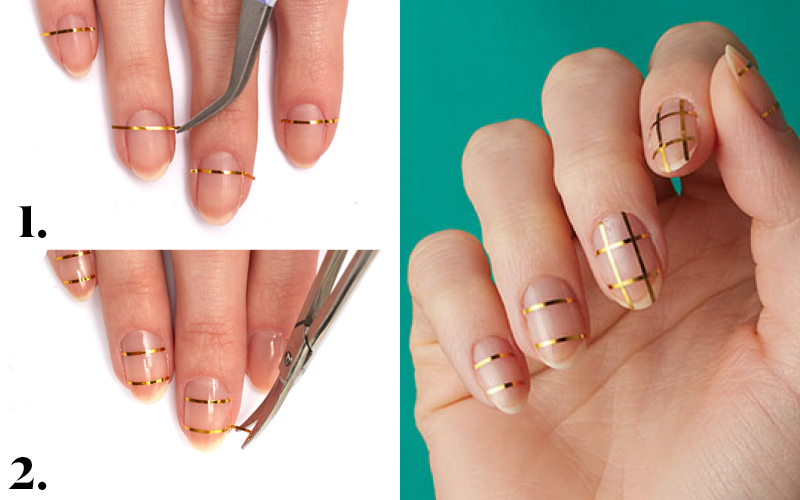 Easy DIY nail art for the holidays to make your fingers sparkle and ...