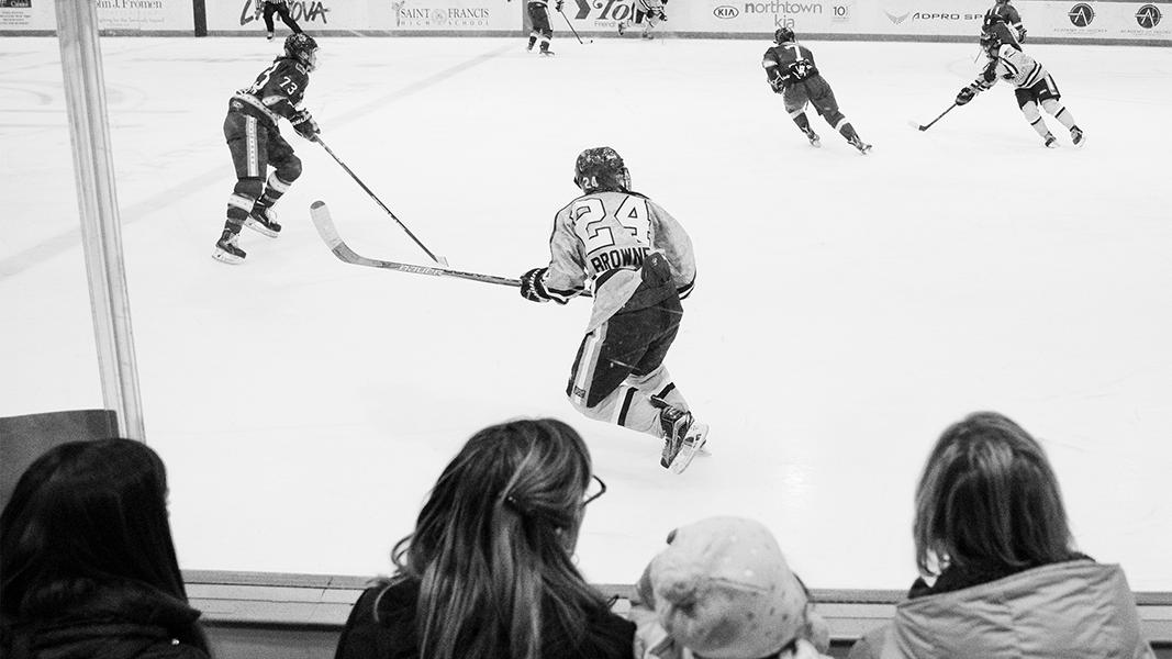 Harrison Browne hockey player