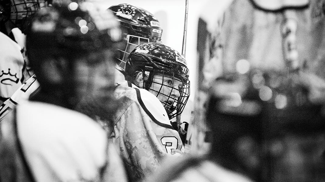 Hockey player Harrison Browne