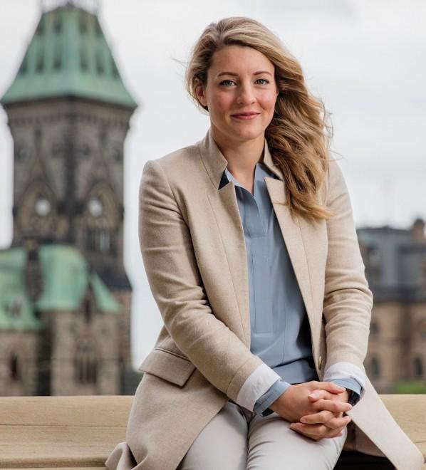 Mélanie Joly on celbrating Canada's 150th birthday. Photo, Jason Ransom.