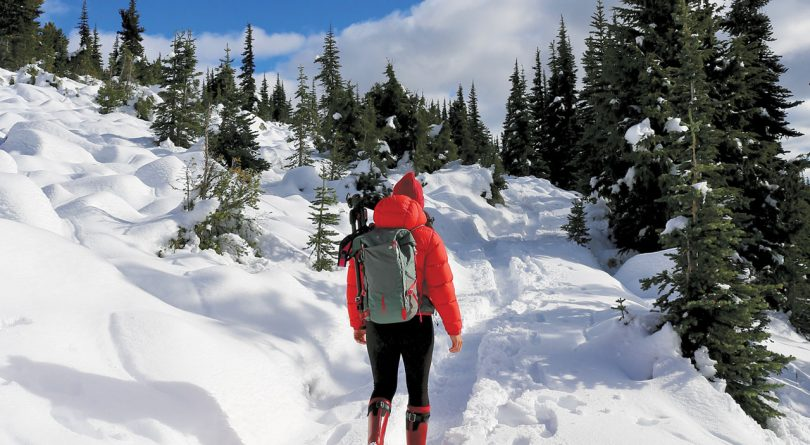 Running in winter: a woman gears up to hit the snowy routes