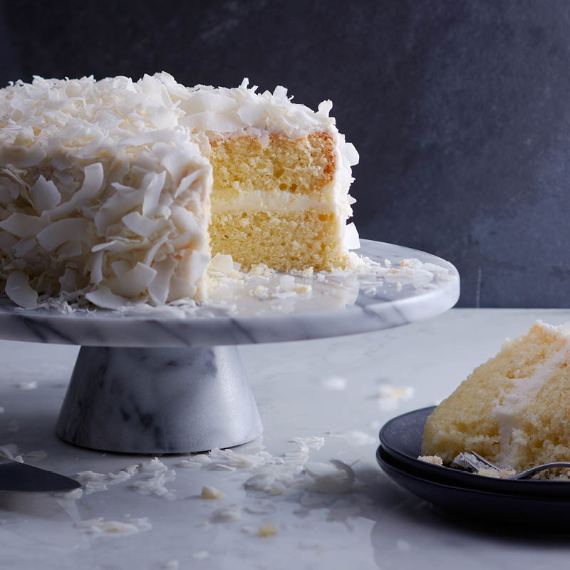 Coconut shag cake