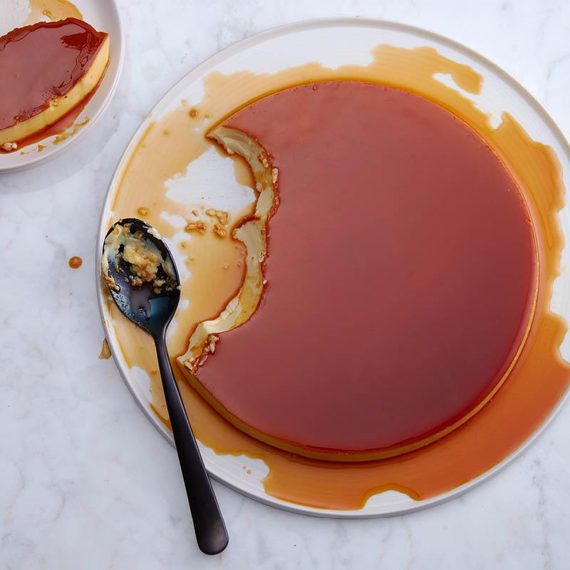 Easy crème caramel