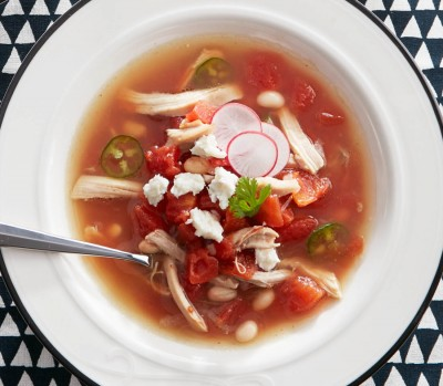 quick chicken soup recipes: chicken posole