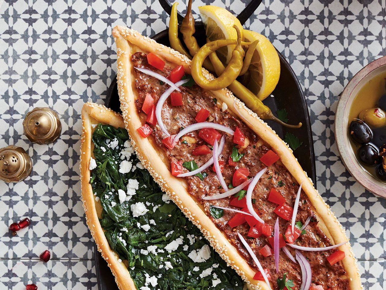 Mediterranean Recipes: Turkish pide