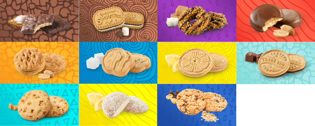 a look at girl guide cookies around the world the u s