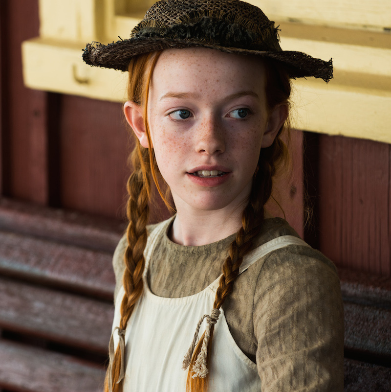 Amybeth McNulty stars as Anne of Green Gables