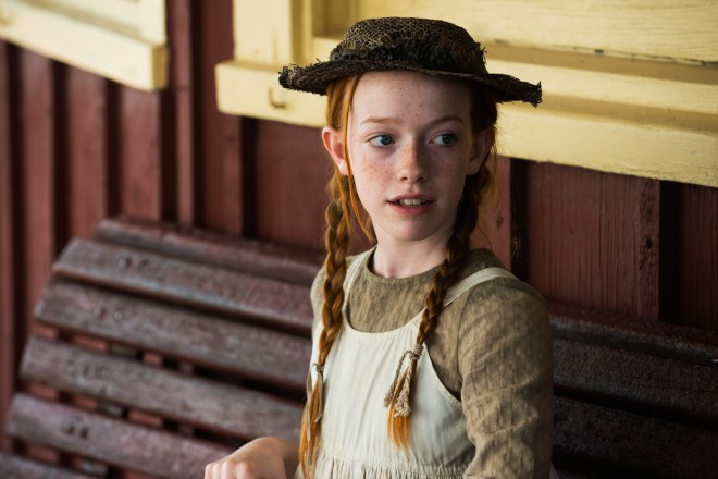 Amybeth McNulty stars in the new Anne of Green Gables reboot