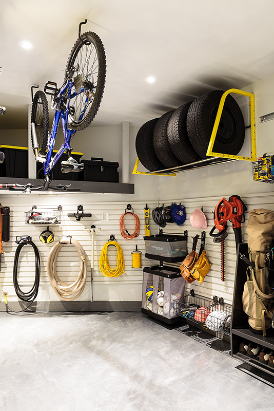 Consider the garage an extension of your interior