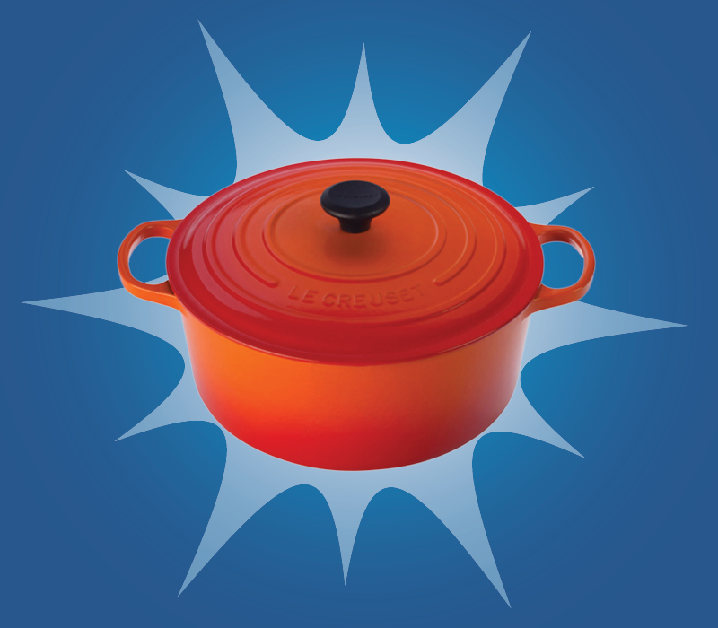 LE CREUSET Round French Oven. $240 (from $320), Hudson's Bay