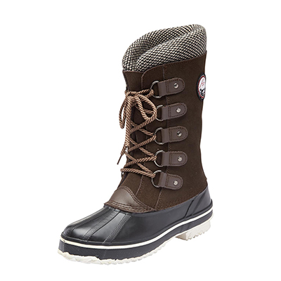 'Snow Mountain' Women's Suede Winter Boot Sears Canada Deals of the day