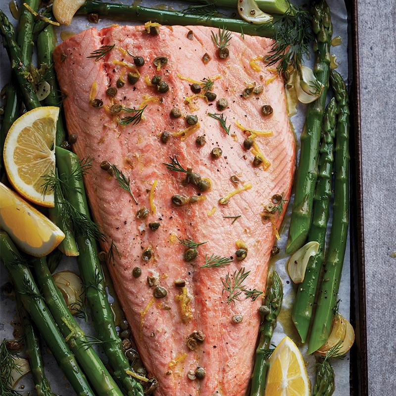 Dinner plan recipe: Monday's dish - sheet pan salmon