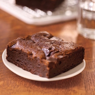 Starbucks food - Double chocolate brownie