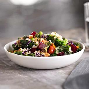 Starbucks food - Hearty veggie and brown rice salad bowl