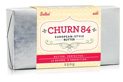 Churn84 European-Style Salted Butter Ontario Canada