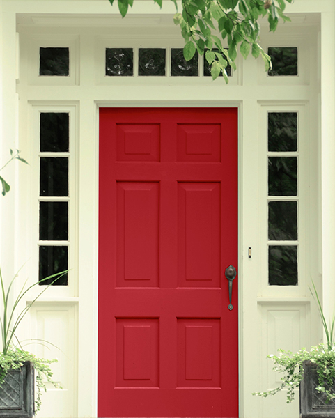 Best Red For Front Door: The 10 Best Red Paint Colours From Bold And Bright To Dark