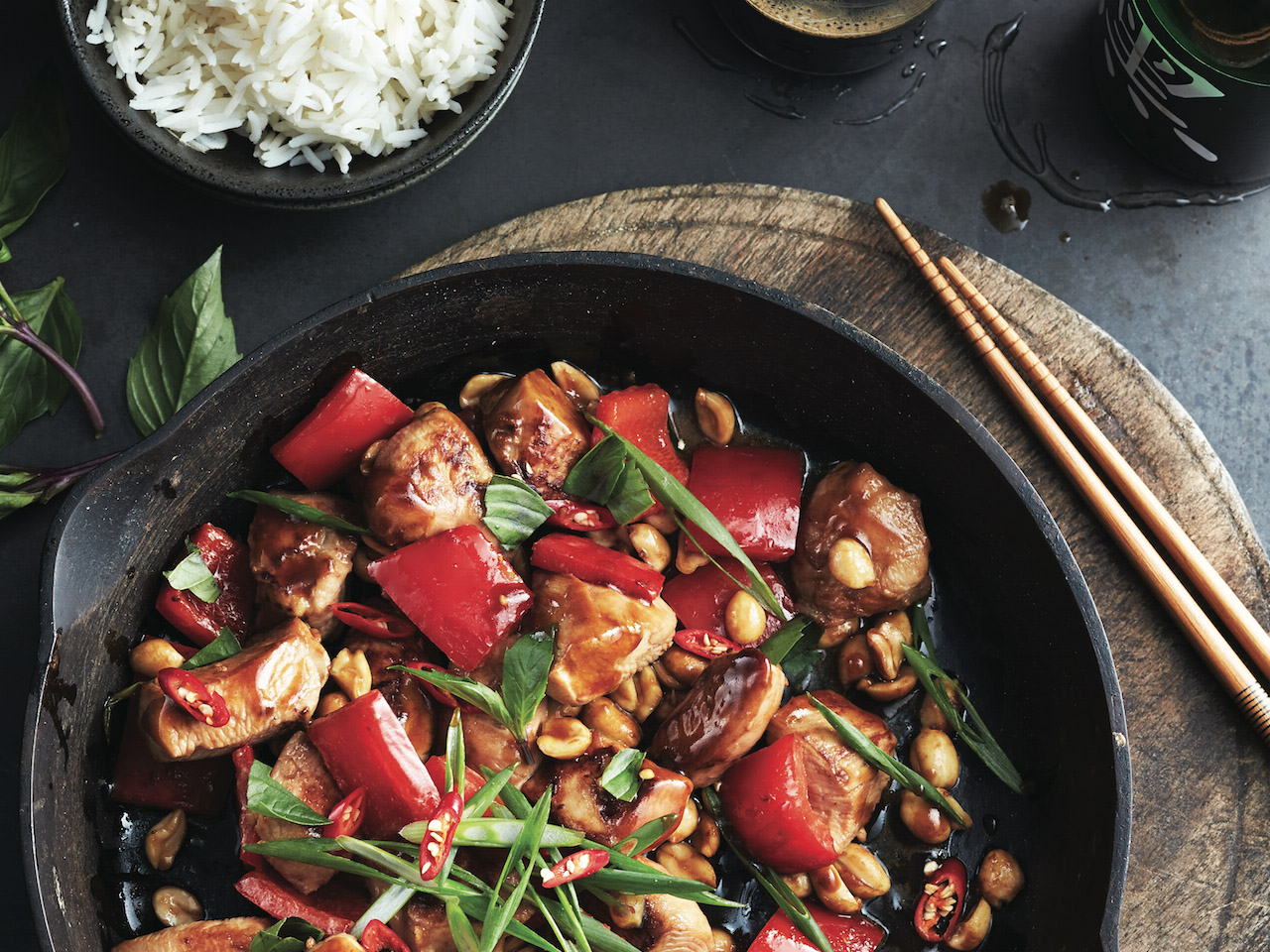 Chicken stir fry recipe - Kung Pao chicken