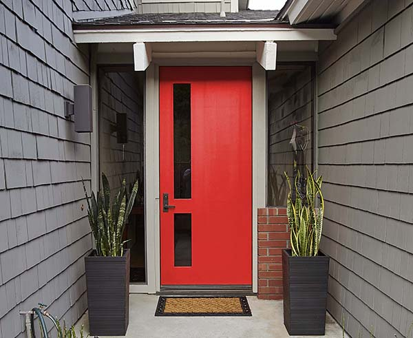 The 10 best red paint colours from bold and bright to dark