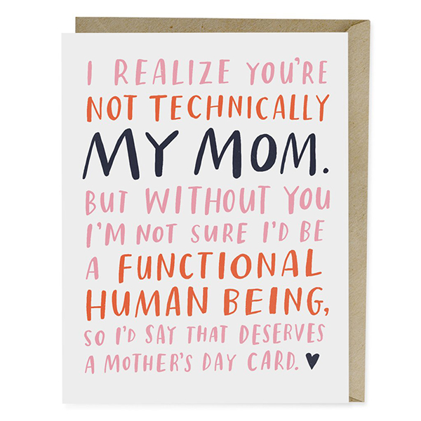 Happy Mothers Day Quotes From Step Daughter: 12 Funny Mother's Day Cards That Will Make Mom Laugh-cry