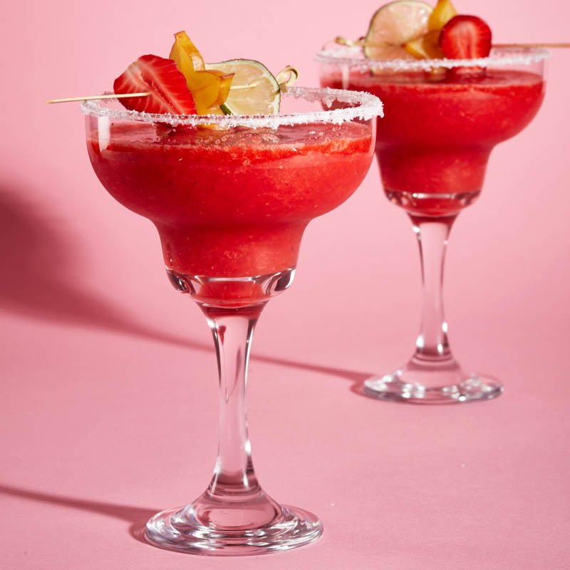 Frozen Strawberry Margarita Recipe Chatelaine