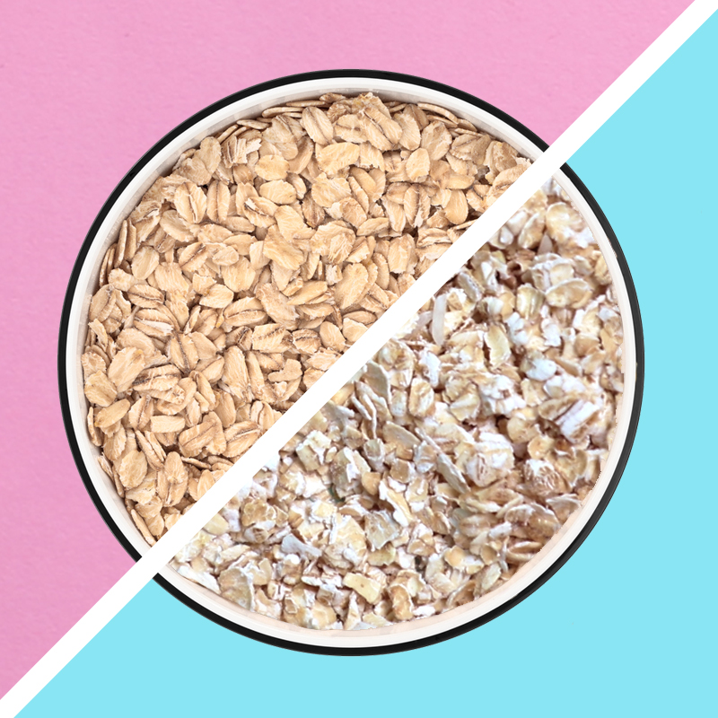 pantry 101: quick oats versus large flake oats