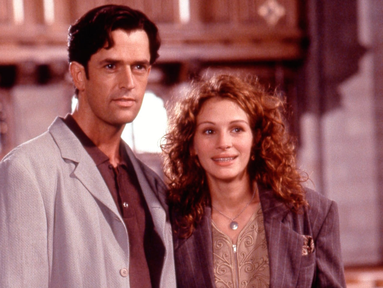 Scene from MY BEST FRIEND'S WEDDING, Rupert Everett, Julia Roberts, 1997, (c)TriStar Pictures/courtesy Everett Collection