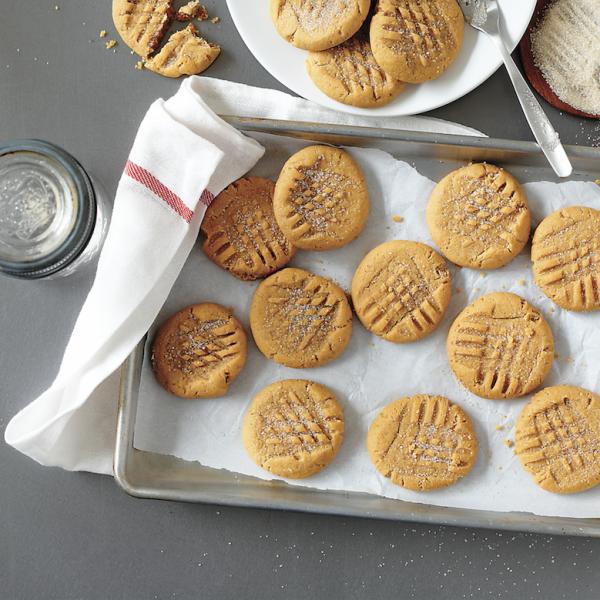Almond-butter cookies