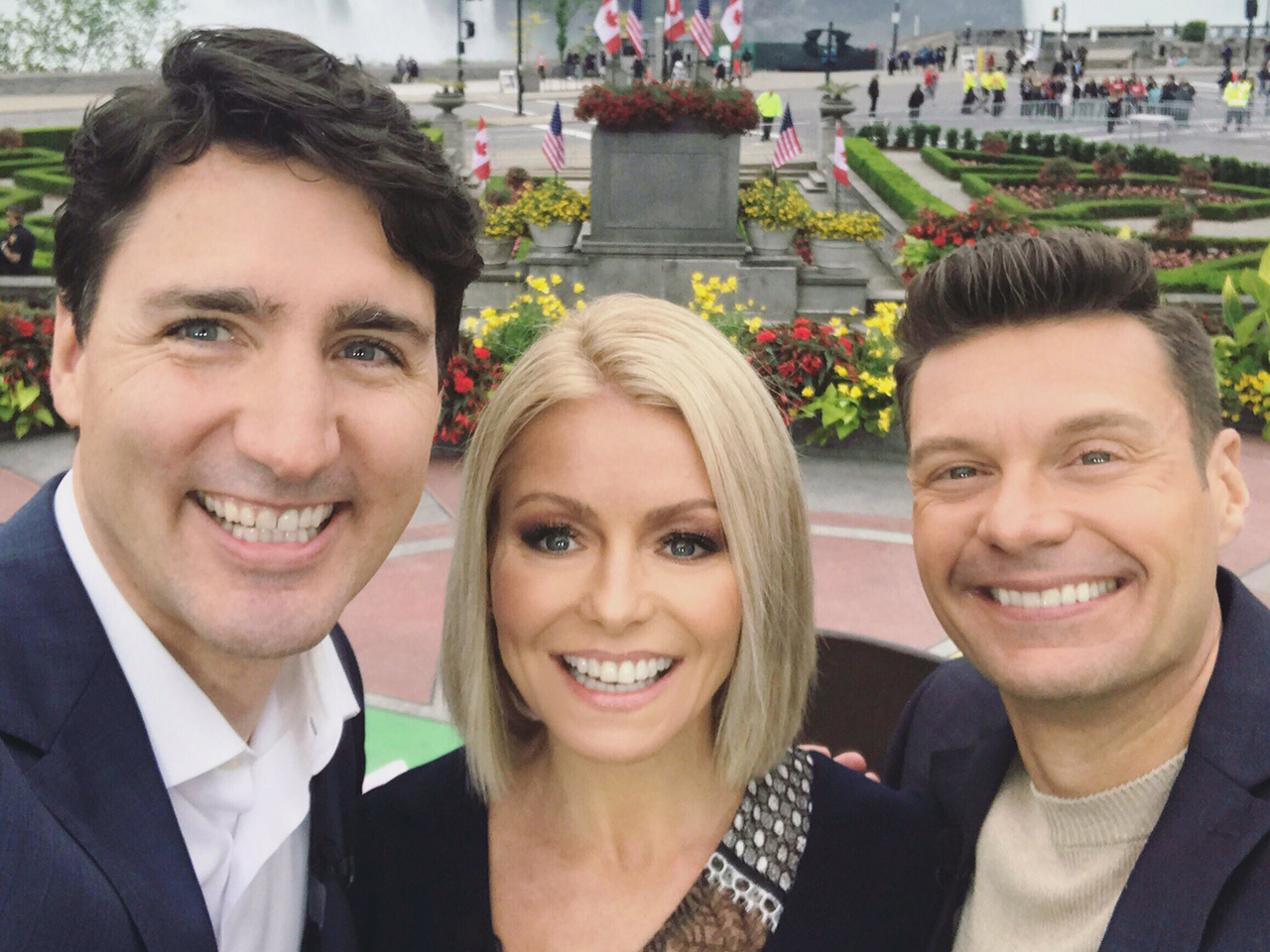 Justin Trudeau Live with Kelly and Ryan