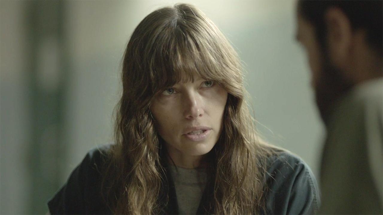 Jessica Biel as Cora in The Sinner. Photo, USA Network.