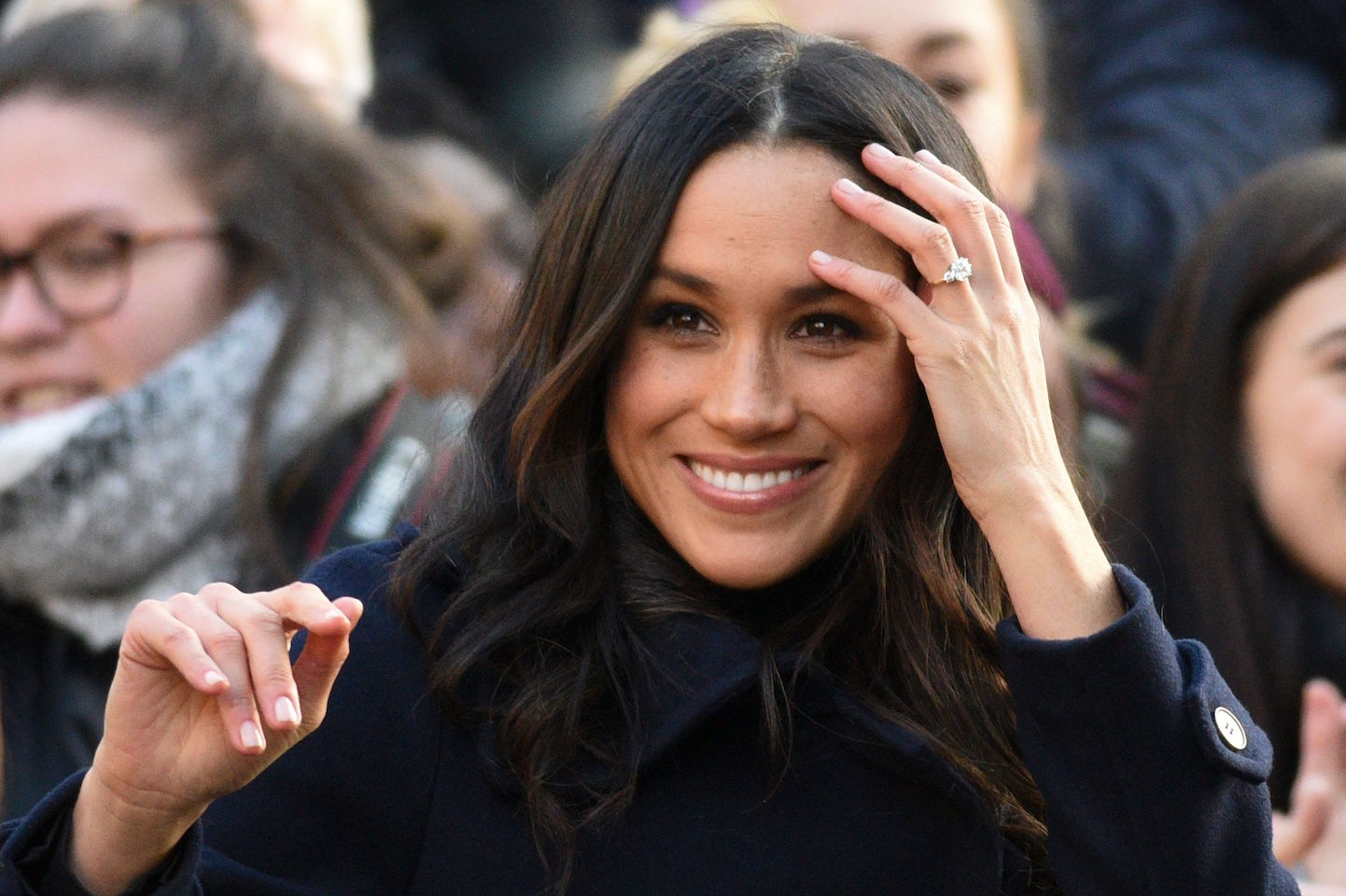Meghan Markle, The Queen and Kate Middleton Nail polish: They all wear Essie Ballet Slippers