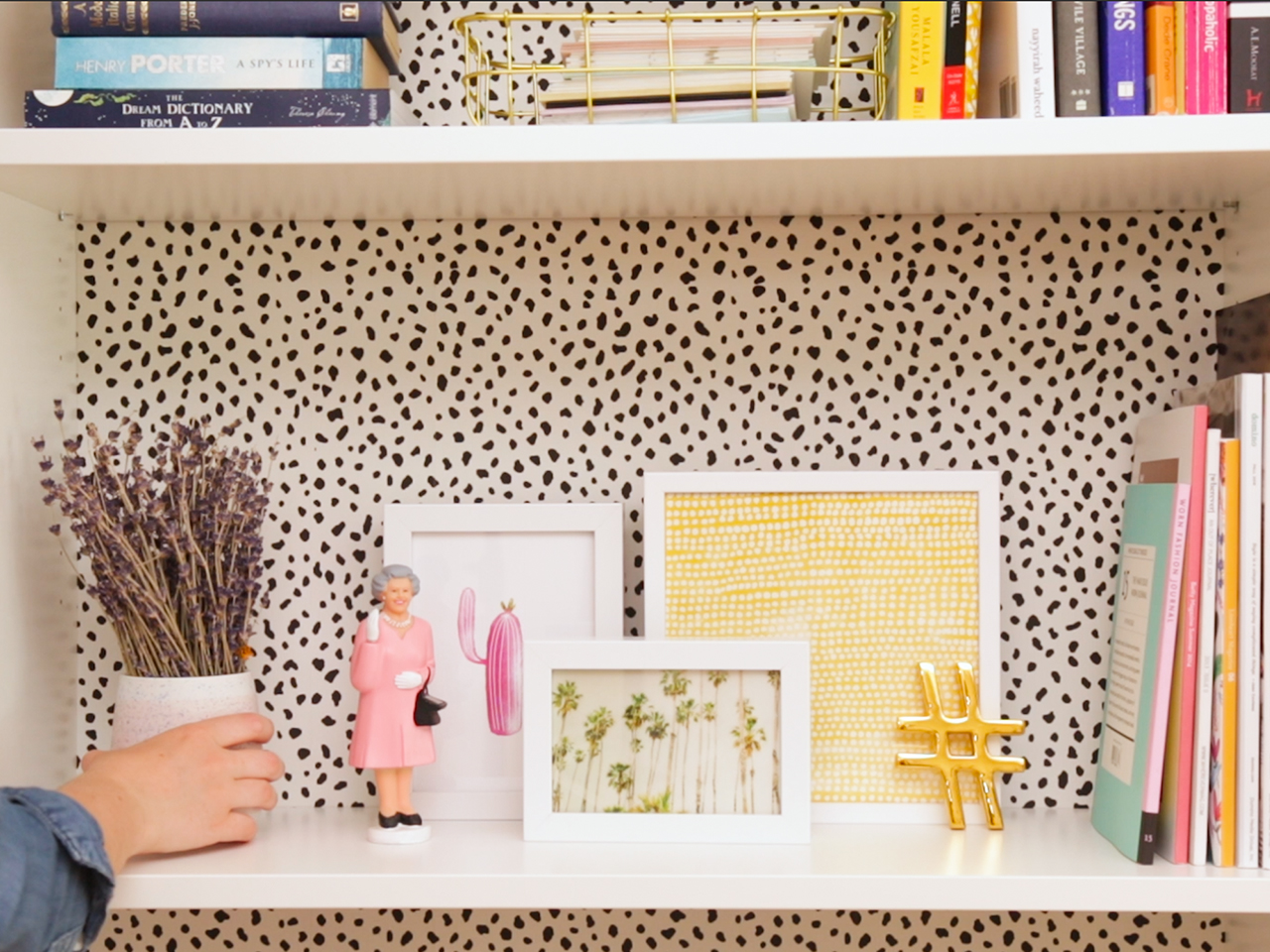 How to transform your bookshelf into a Pinterest-inspired masterpiece — for under $150