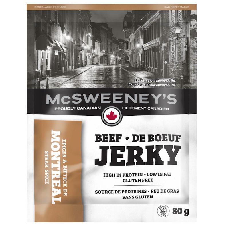Best beef jerky - McSweeneys Beef Jerky