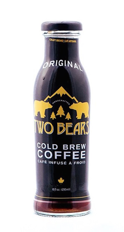 Two Bears Cold Brew Coffee Bottle