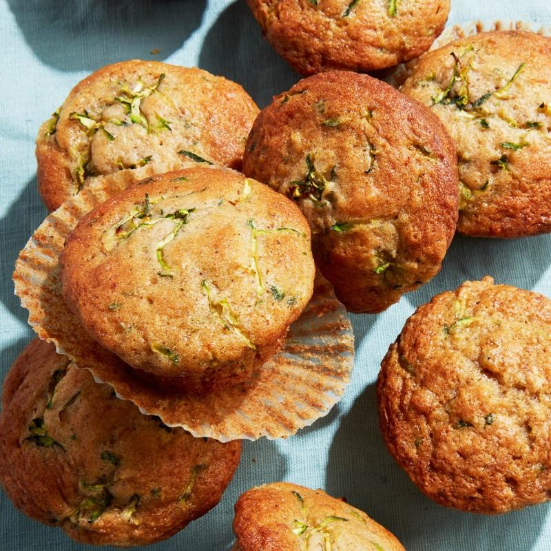 Ultimate zucchini muffins