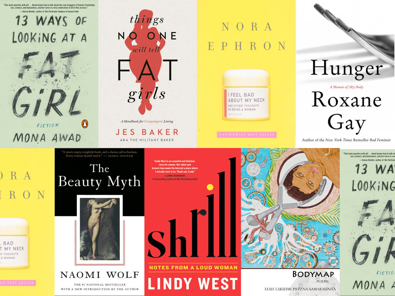 7 books that get real about body image