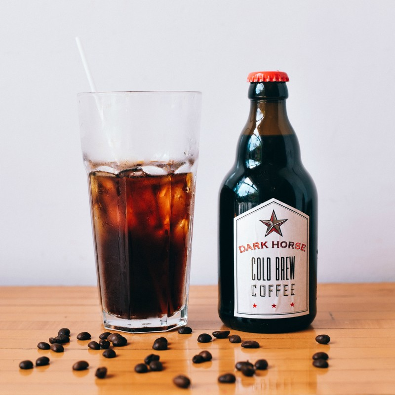 cold brew coffee dark-horse