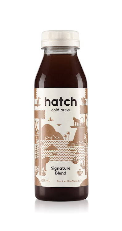 hatch_bottled cold brew coffee