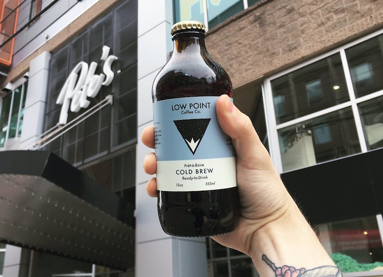 low point coffee bottled cold brew