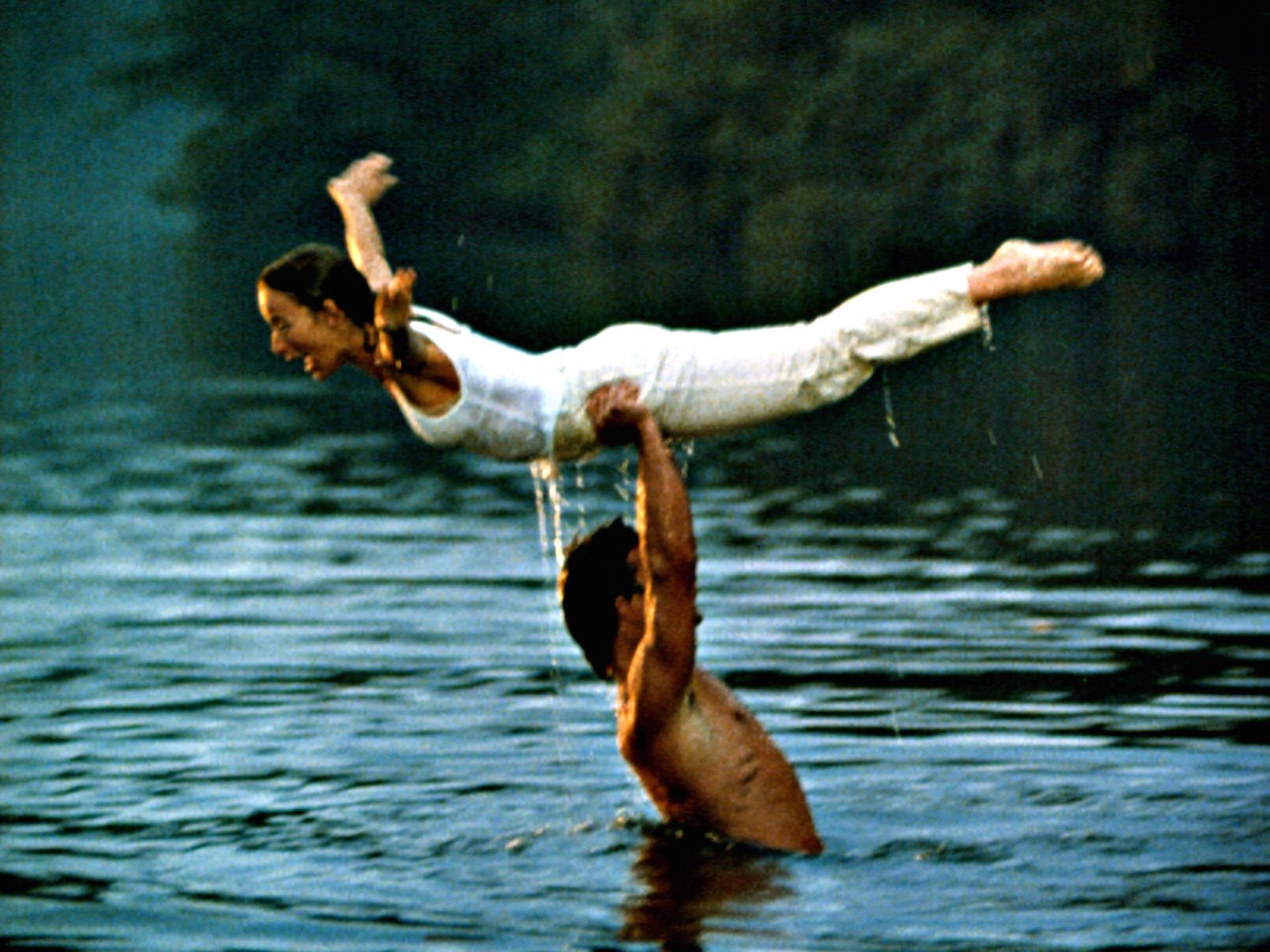 DIRTY DANCING, Patrick Swayze, Jennifer Grey, 1987. (c) Artisan Entertainment/ Courtesy: Everett Collection.