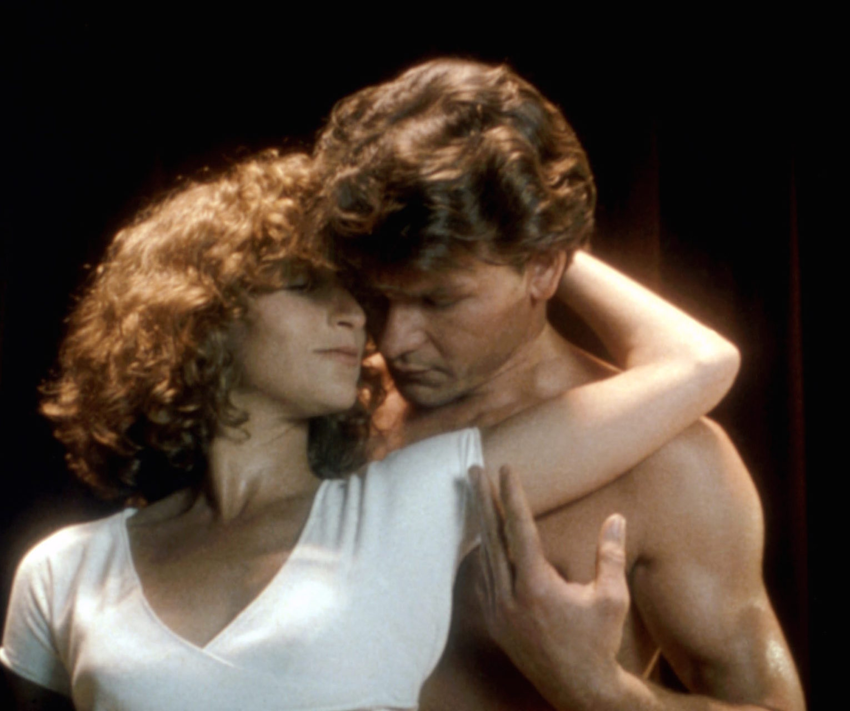 DIRTY DANCING, Jennifer Grey, Patrick Swayze, 1987, (c)Vestron Pictures/courtesy Everett Collection