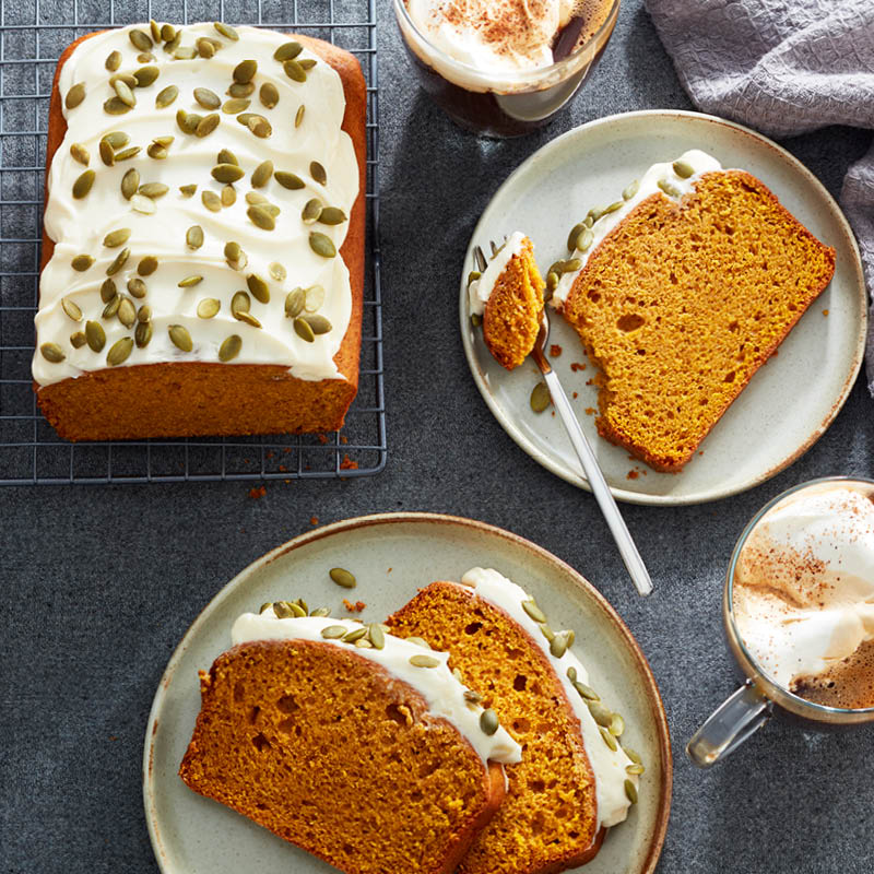 Classic pumpkin loaf