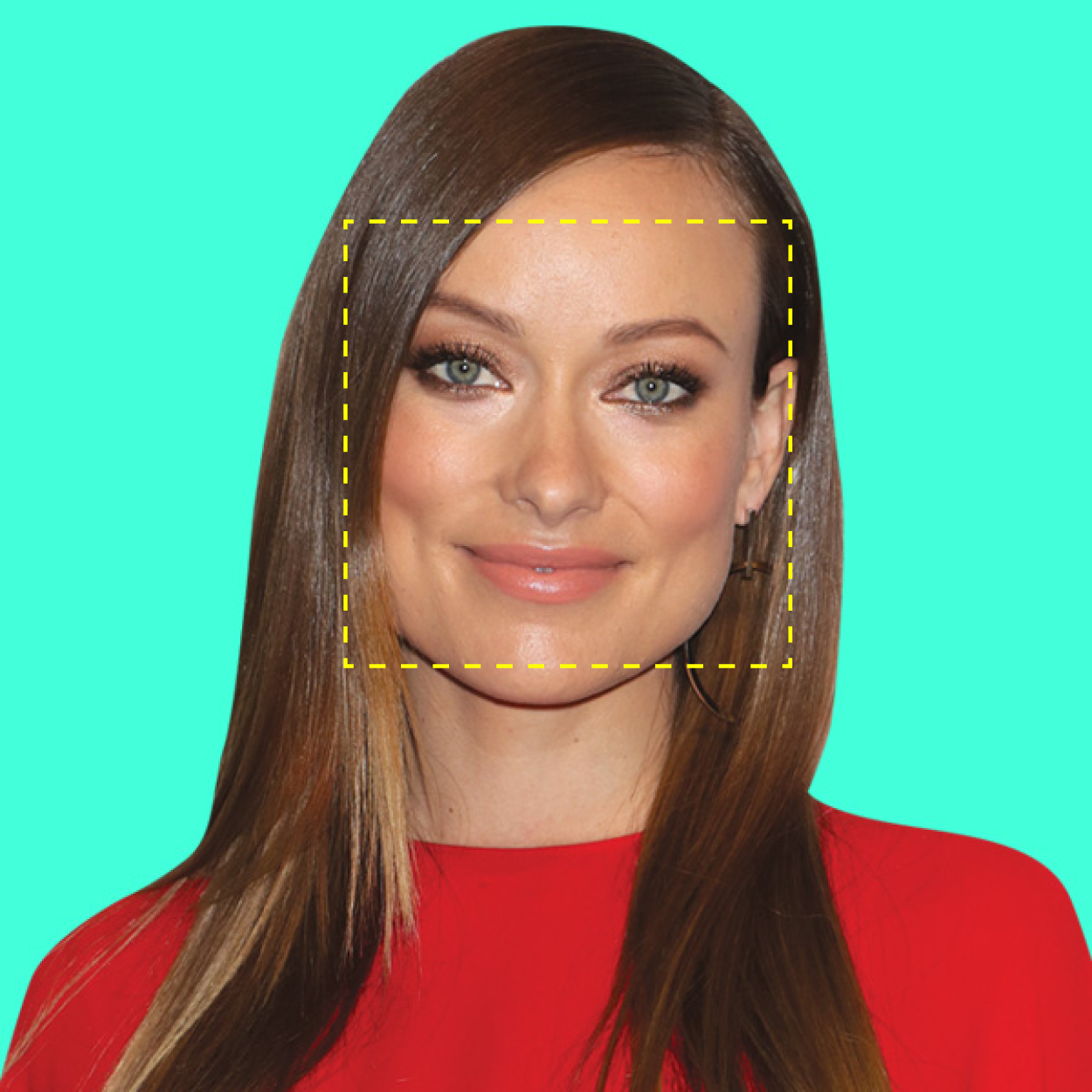 <p>If your face is square or rectangularshaped…</p>