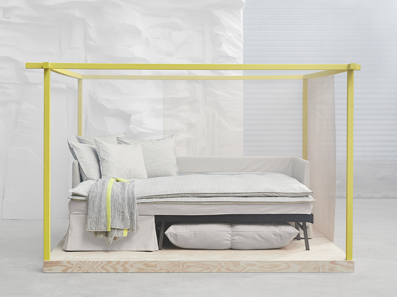 Sofabett ikea  The 13 Best Finds From Ikea's New Fall Line - Chatelaine