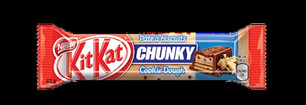 Kit Kat flavours: chunky cookie dough Kit Kat